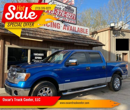 2013 Ford F-150 for sale at Oscar's Truck Center, LLC in Houston TX