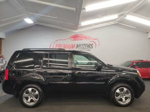 2012 Honda Pilot for sale at Premium Motors in Villa Park IL