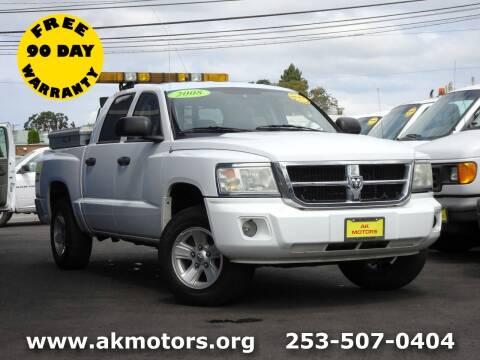2008 Dodge Dakota for sale at AK Motors in Tacoma WA
