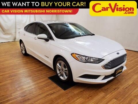 2018 Ford Fusion Hybrid for sale at Car Vision Mitsubishi Norristown in Trooper PA