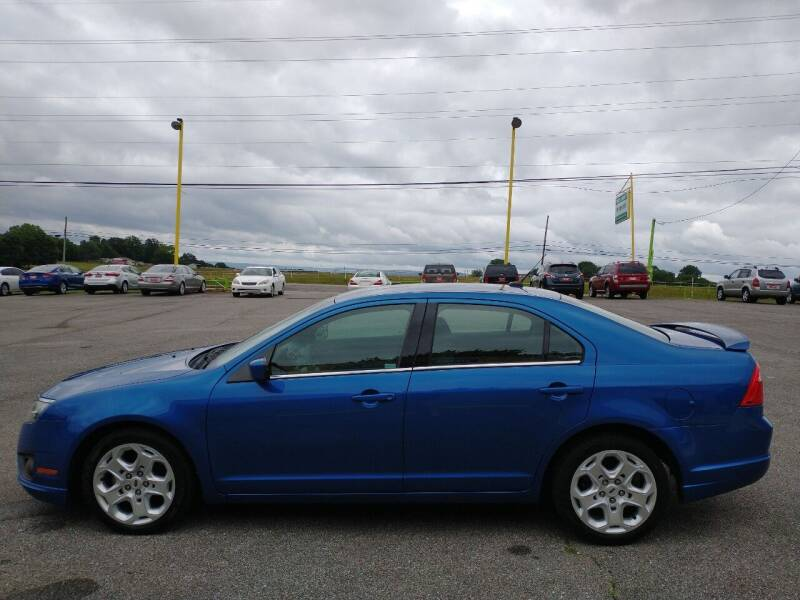 2011 Ford Fusion for sale at Space & Rocket Auto Sales in Meridianville AL