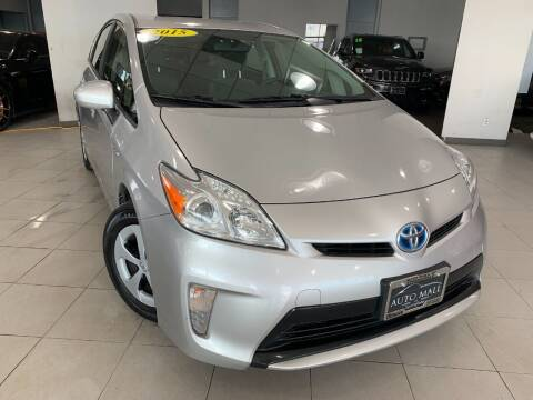 2015 Toyota Prius for sale at Auto Mall of Springfield in Springfield IL