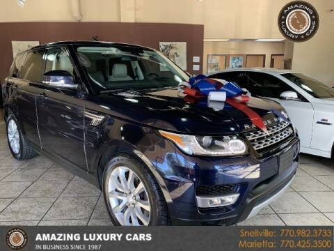 2015 Land Rover Range Rover Sport for sale at Amazing Luxury Cars in Snellville GA