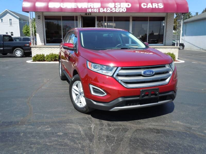 2018 Ford Edge for sale at Boulevard Used Cars in Grand Haven MI