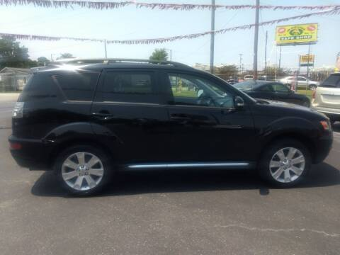 2010 Mitsubishi Outlander for sale at Kenny's Auto Sales Inc. in Lowell NC