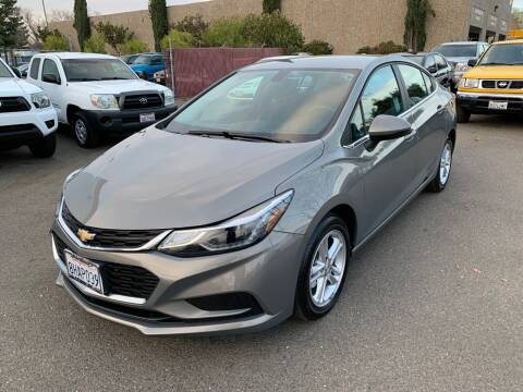 2018 Chevrolet Cruze for sale at C. H. Auto Sales in Citrus Heights CA