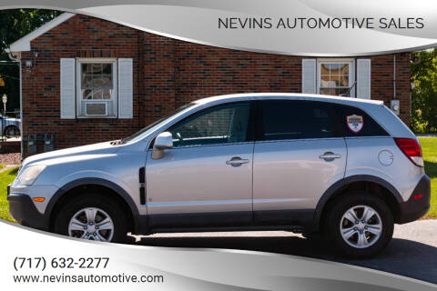 2008 Saturn Vue for sale at Nevins Automotive Sales in Hanover PA