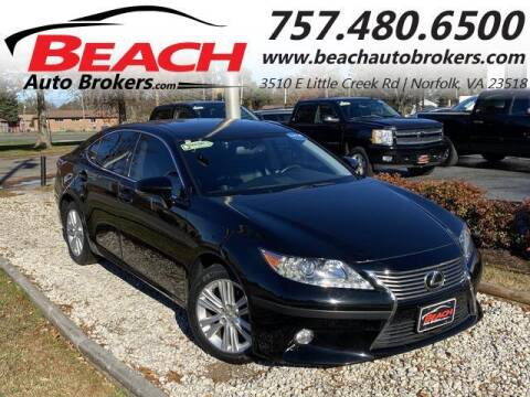 2015 Lexus ES 350 for sale at Beach Auto Brokers in Norfolk VA