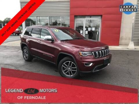 2017 Jeep Grand Cherokee for sale at Legend Motors of Waterford - Legend Motors of Ferndale in Ferndale MI