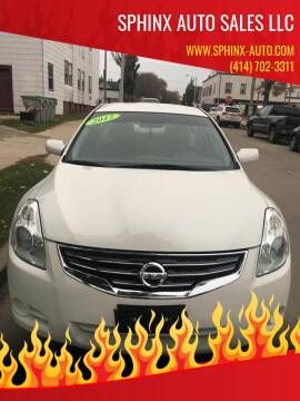 2012 Nissan Altima for sale at Sphinx Auto Sales LLC in Milwaukee WI