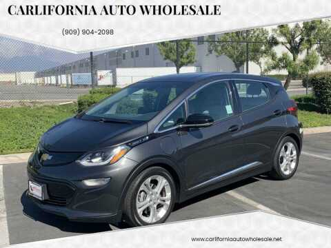 2017 Chevrolet Bolt EV for sale at CARLIFORNIA AUTO WHOLESALE in San Bernardino CA