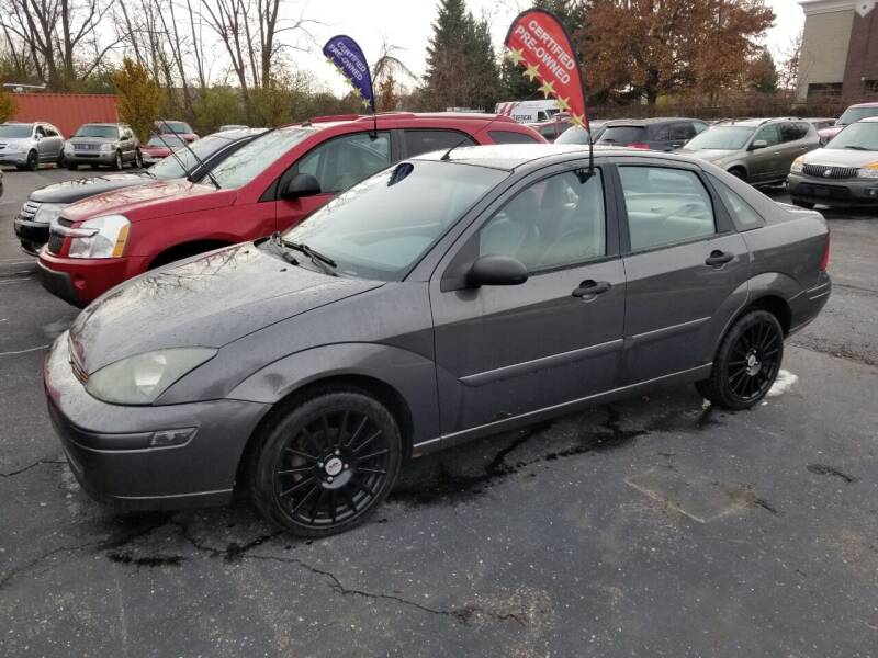 2004 Ford Focus for sale at Scott Thomas Automotive in Clinton Township MI
