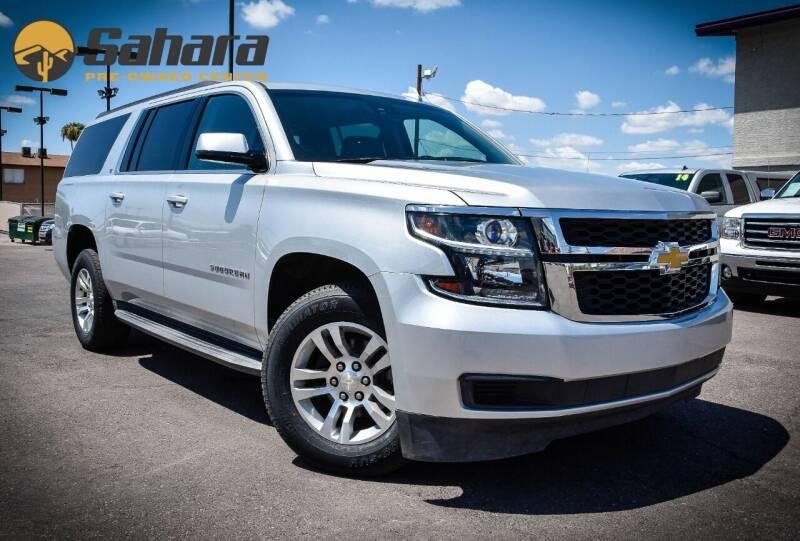 2015 Chevrolet Suburban for sale at Sahara Pre-Owned Center in Phoenix AZ