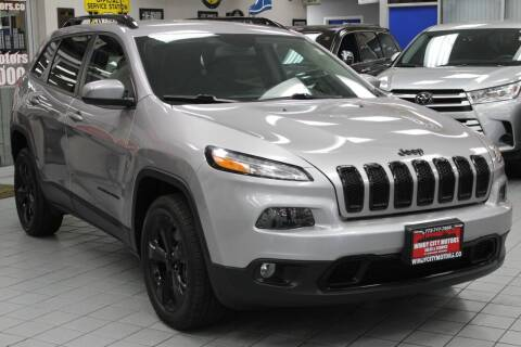 2018 Jeep Cherokee for sale at Windy City Motors in Chicago IL