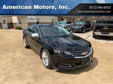 2016 Chevrolet Impala for sale at American Motors, Inc. in Farmington MN