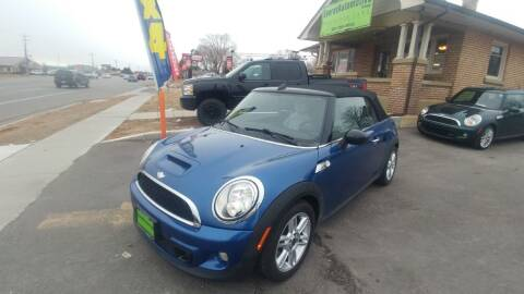 2012 MINI Cooper Convertible for sale at Everett Automotive Group in Pleasant Grove UT