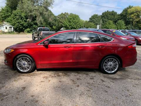 2014 Ford Fusion for sale at SS AUTO PRO'S in Otsego MI
