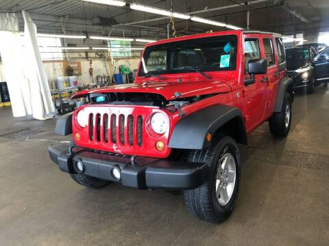 2011 Jeep Wrangler Unlimited for sale at Doug Dawson Motor Sales in Mount Sterling KY