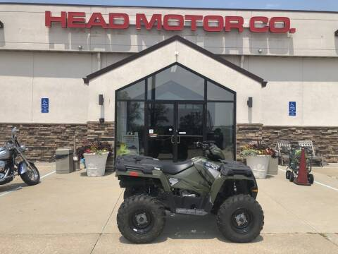 2015 Polaris Sportsman® 570 EPS Sage G for sale at Head Motor Company - Head Indian Motorcycle in Columbia MO