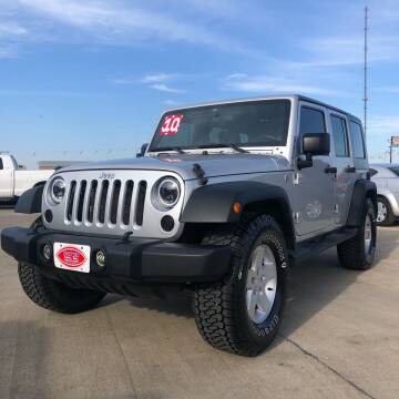 2010 Jeep Wrangler Unlimited for sale at UNITED AUTO INC in South Sioux City NE