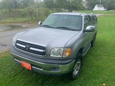 2002 Toyota Tundra for sale at GROVER AUTO & TIRE INC in Wiscasset ME