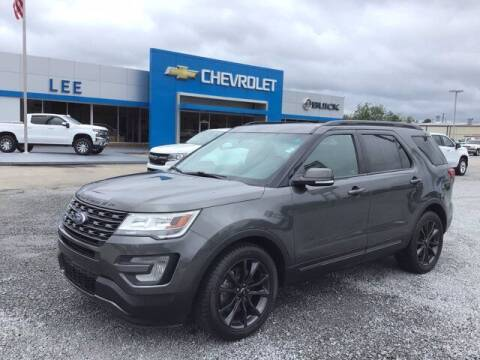 2017 Ford Explorer for sale at LEE CHEVROLET PONTIAC BUICK in Washington NC