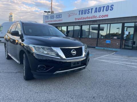 2013 Nissan Pathfinder for sale at Trust Autos, LLC in Decatur GA