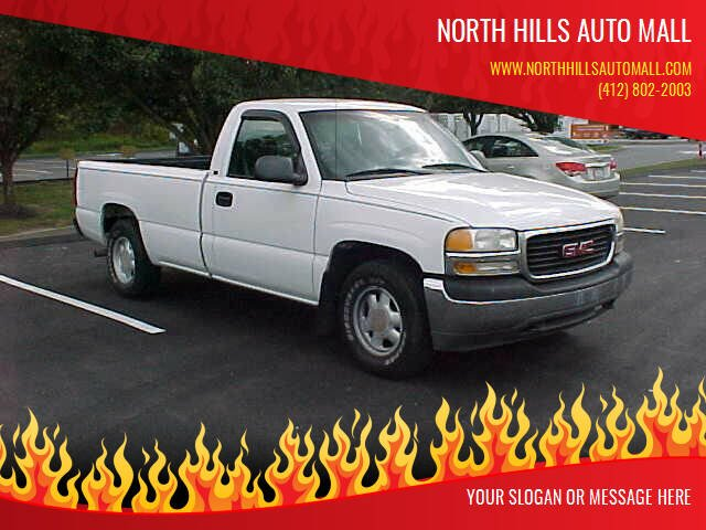 1999 GMC Sierra 1500 for sale at North Hills Auto Mall in Pittsburgh PA