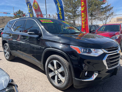 2018 Chevrolet Traverse for sale at Duke City Auto LLC in Gallup NM