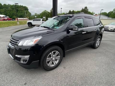 2017 Chevrolet Traverse for sale at Alexandria Auto Mart LLC in Alexandria PA