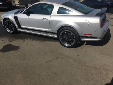 2007 Ford Mustang for sale at CONTINENTAL AUTO EXCHANGE in Lemoore CA