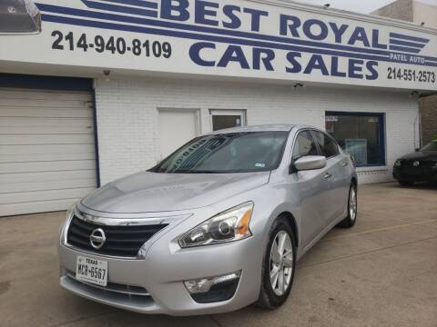 2013 Nissan Altima for sale at Best Royal Car Sales in Dallas TX