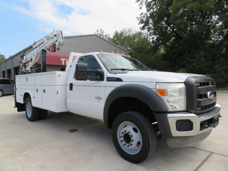 2011 Ford F-450 Super Duty for sale at TIDWELL MOTOR in Houston TX