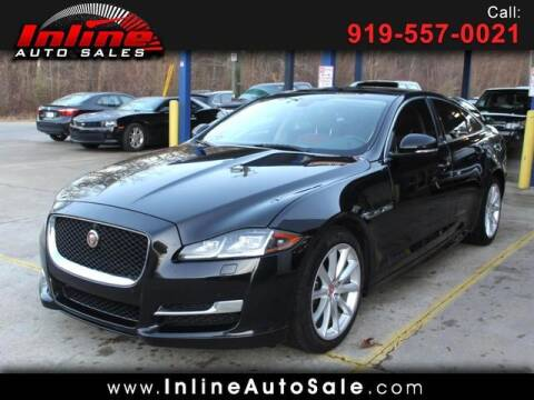 2016 Jaguar XJ for sale at Inline Auto Sales in Fuquay Varina NC