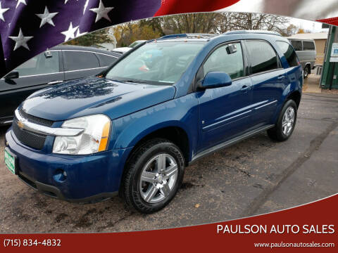 2008 Chevrolet Equinox for sale at Paulson Auto Sales in Chippewa Falls WI