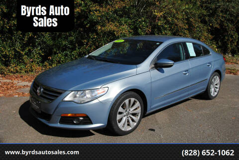 2010 Volkswagen CC for sale at Byrds Auto Sales in Marion NC