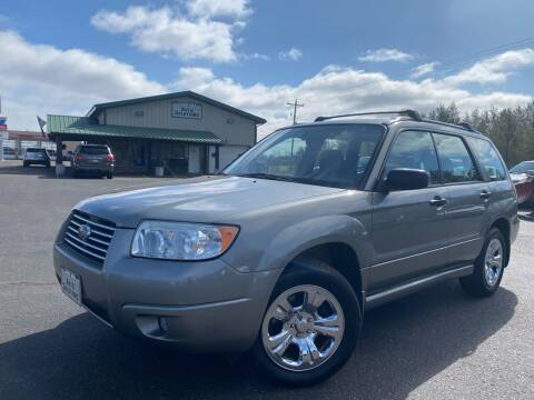 2006 Subaru Forester for sale at Lakes Area Auto Solutions in Baxter MN