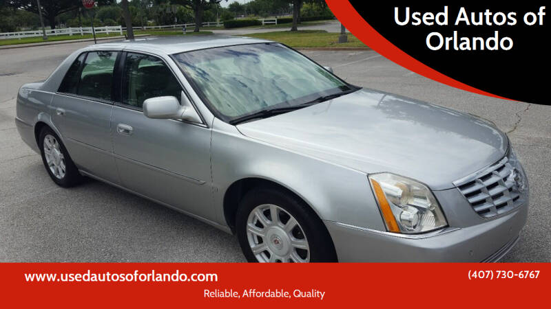 2008 Cadillac DTS for sale at Used Autos of Orlando in Orlando FL