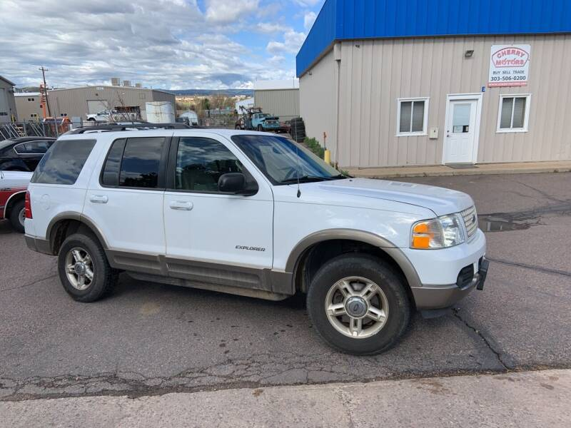 2002 Ford Explorer for sale at Cherry Motors in Castle Rock CO