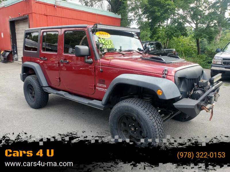2011 Jeep Wrangler Unlimited for sale at Cars 4 U in Haverhill MA