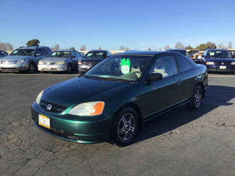 2001 Honda Civic for sale at My Three Sons Auto Sales in Sacramento CA