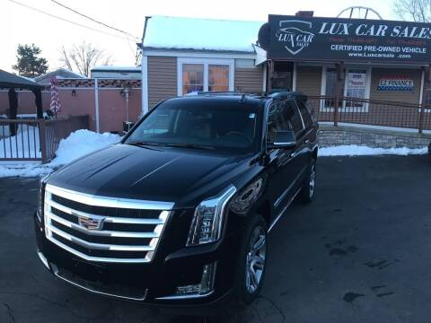 2015 Cadillac Escalade ESV for sale at Lux Car Sales in South Easton MA