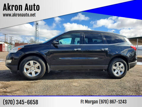 2011 Chevrolet Traverse for sale at Akron Auto in Akron CO
