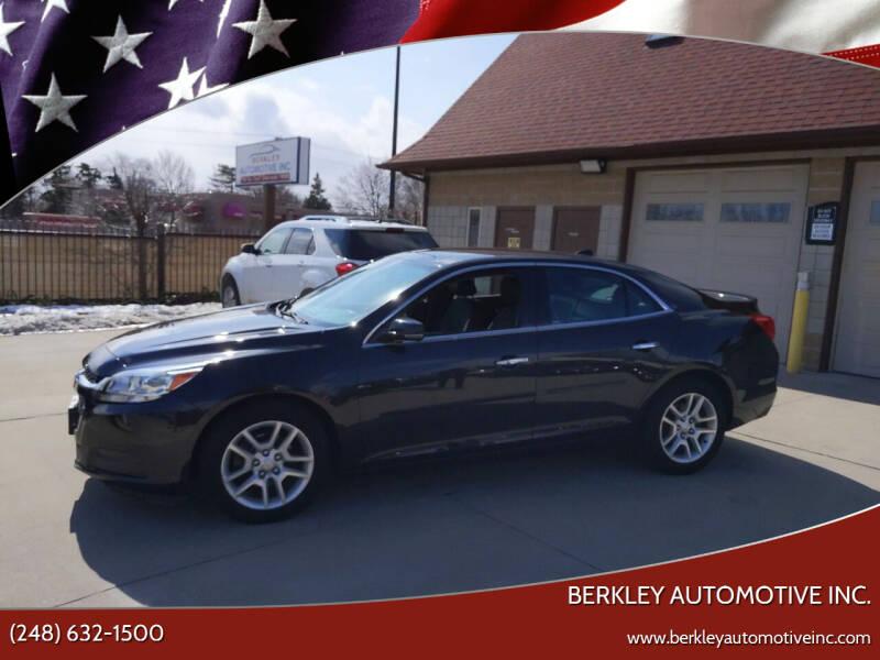 2014 Chevrolet Malibu for sale at Berkley Automotive Inc. in Berkley MI