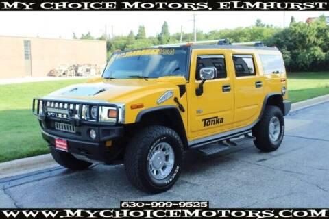2003 HUMMER H2 for sale at My Choice Motors Elmhurst in Elmhurst IL
