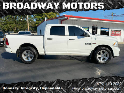 2013 RAM Ram Pickup 1500 for sale at BROADWAY MOTORS in Van Buren AR