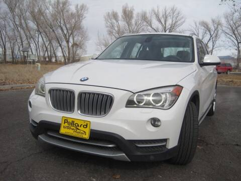 2013 BMW X1 for sale at Pollard Brothers Motors in Montrose CO