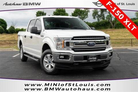 2018 Ford F-150 for sale at Autohaus Group of St. Louis MO - 40 Sunnen Drive Lot in Saint Louis MO