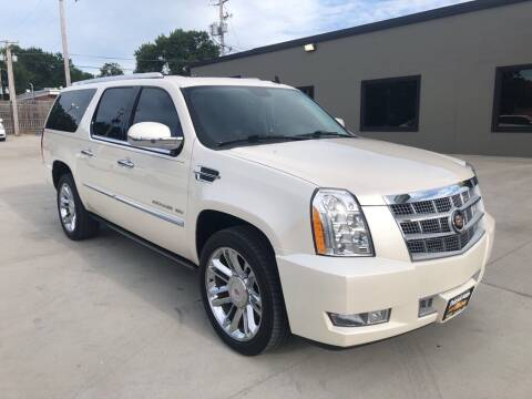 2013 Cadillac Escalade ESV for sale at Tigerland Motors in Sedalia MO