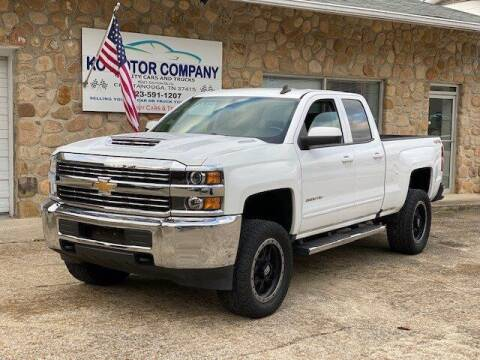 2017 Chevrolet Silverado 2500HD for sale at KC Motor Company in Chattanooga TN